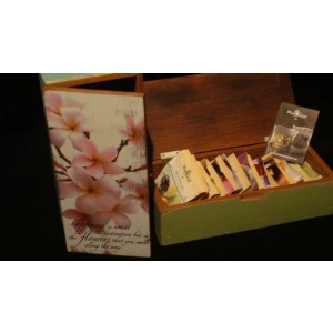 Tea-box with 24 different Mighty Leaf Tea bags