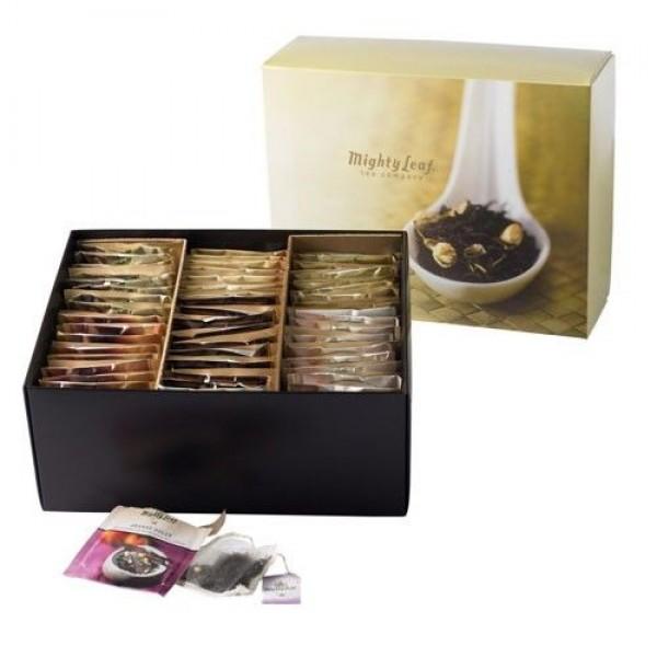 Grote kartonnen doos zwarte thee